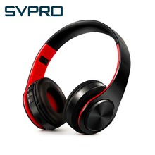 Colorful Stereo Audio Mp3 Bluetooth Headphones Support TF Card Wireless Bluetooth Headset with mic play 10 hours(China)