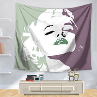 Polyester-Tapestry-Marilyn-Monroe-Poster-Home-Decoration-Wall-Blankets-Hanging-Bedspread-Sheets-Tapiz-Pared-Hippie-Tapestries