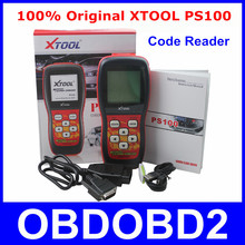 Update Online XTOOL PS100 Live Data Scanner OBDII EOBD PS 100 Code Reader Works On All 1996 And Newer Cars 100% Original InStock