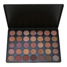 2016 Fashion 35 Color Eyeshadow Palette Warm Shimmer Matte Beauty Makeup Set Smoky Eye-shadow T#