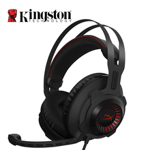 Kingston HyperX Cloud Revolver Headphones Circumaural Noise-cancelling Steelseries Gaming Headset with Microphone For PC Phone(China)