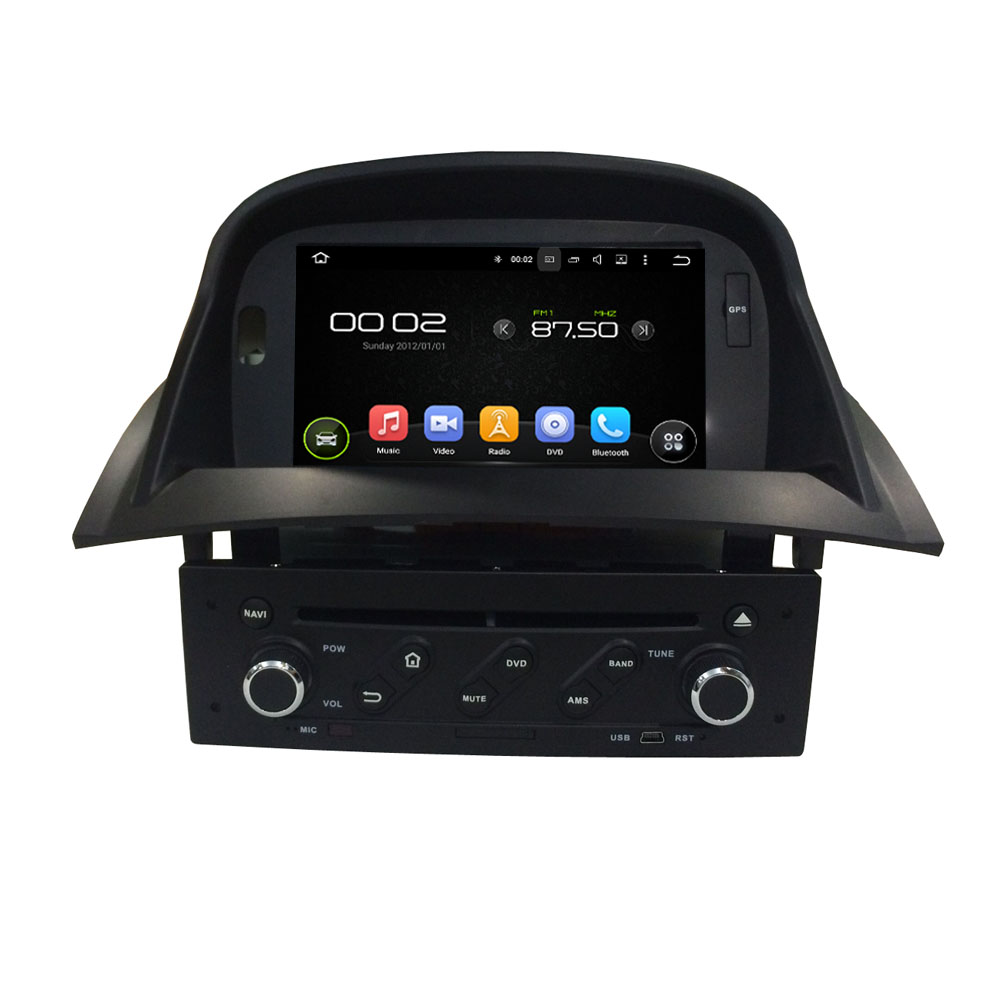 Quad Core Android Fit RENAULT Megane II 2004 - 2014 1015 2016Car DVD Player Navigation GPS Radio(China)