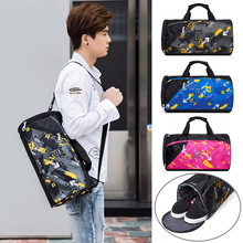 New Waterproof Sports Bag Women Gym Fitness Men Training Traveling Bag for Shoes Outdoor Shoulder Luggage Pack Sporttas Tassen