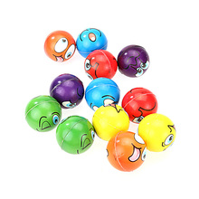 12pcs/lot Modern FUN Emoji Face Squeeze Balls Stress Relax Emotional Hand Wrist Exercise Stress Kid Toy Balls 2 Types For Choose