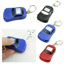 New 1PC LED Light Torch Whistle Sound Control Key Finder Locator Find Lost Keys Keychain(China)