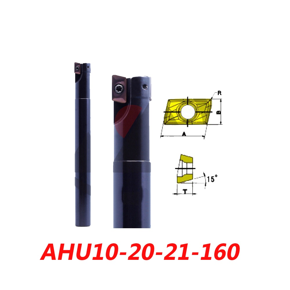 Free Shipping AHU10-20-21-160 Right Angle Shoulder Face Mill Suitable For Hitachi Insert JDMT1003<br><br>Aliexpress