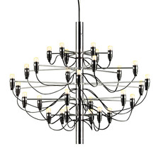 Modern home decoration 18/30/50 bulbs Gino Sarfatti designed Chandelier Living Room Dinning Room light free shipping