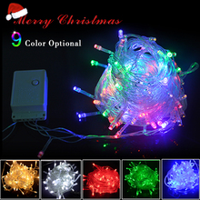 Fairy Led Strip Light Christmas Tree Decor Lamp String AC 220V 110V EU US 10M 100 Leds For Party Wedding Holiday Lighting Deco(China)