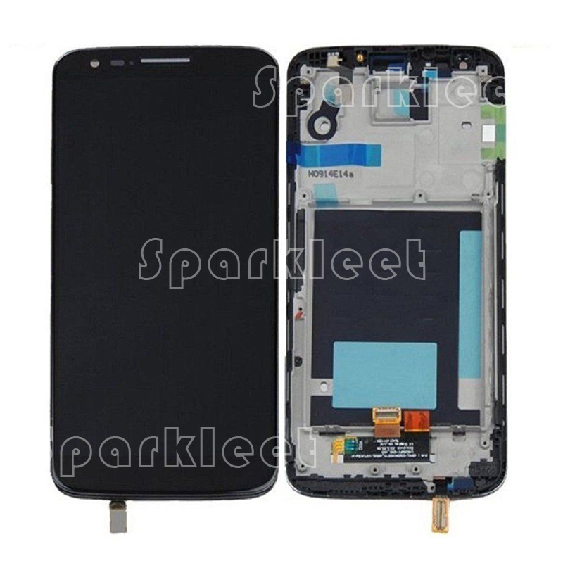 Black White LCD For LG Optimus G2 D800 D801 D803 LCD Display+Touch Screen Digitizer Assembly&amp;LCD With Frame, Free Shipping<br><br>Aliexpress