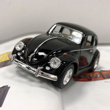 Brand New 1/32 Scale Germany 1967 Volkswagen Vw Classic Beetle Bug Diecast Metal Pull Back Car Model Toy For Gift/Children(China)