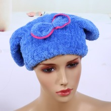 2 Colors Quick Hair Drying Cap Hat Microfiber Ultra Absorbent Hair Towel Dry Wrap Cap Quick Dry Hair Tower