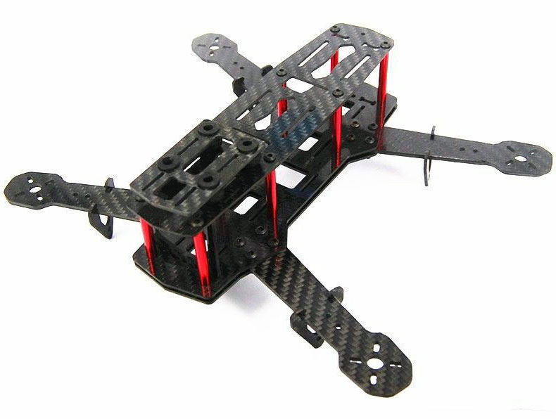 Blackout ZMR250 Full Carbon Fiber Mini 250 FPV Quadcopter Frame (Unassembled)<br><br>Aliexpress