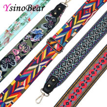YsinoBear Vintage Fashion Multicolor Patchwork Handbag Strap Woven Design It Bag Strap Belt Wide New Chic Trendy Shoulder Straps(China)
