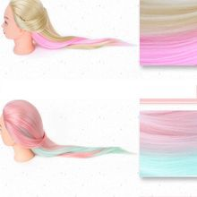 20 Styles Arbitrary Choice Human Hair Hairdressing Practice Training Mannequin Doll Head Sale Hair Care Styling Training Head