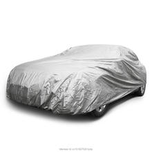 Universal Car Cover Elastic Hems Cars Indoor outdoor Full Car Cover Sun UV Snow Dust Resistant Protection Size M L XL EACC004(China)