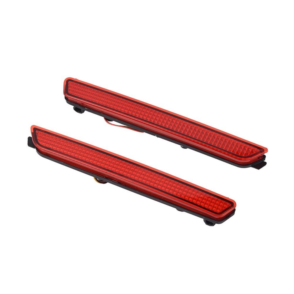 Car Rear Bumper Red Led Fog Brake Light Lamp Warning Lights<br><br>Aliexpress