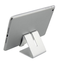 Universal Cell Phone Tablet Desk Stand Holder For iPad Air Mini Aluminium Alloy Metal Smartphone Bracket for Samsung iPhone 6 5s