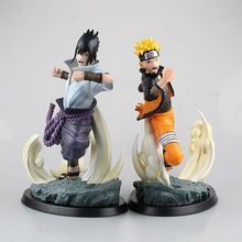 Anime Figure 27 CM TSUME Naruto Uzumaki sasuke uchiha Naruto Limited Edition Statue PVC Action Figure Resin Collection Model Toy