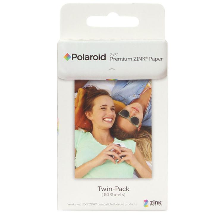 50 sheets Premium ZINK Zero Ink Paper for Polaroid Instant Photo Camera Z2300 Snap touch / Zip Pinter / Socialmatic Instagram <br>