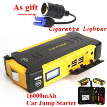 Emergency Starting Device 600A Portable Car Jump Starter Power Bank 12V Car Charger For Car Battery Booster Petrol Diesel Buster