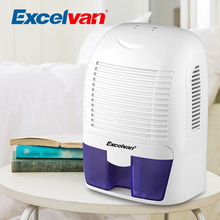 Excelvan 1.5L Air Dehumidifier Portable Dryer Home Bathroom Kitchen Garage Car Damp XROW-800A(China)