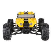 HBX 12891 1/12 2.4G 4WD Waterproof Desert Truck Off-Road Buggy RTR RC Truck with LED Lights Remote Control Lorry Toys For Boys