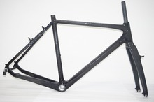 bb30/bsa cx frame carbon cyclocross frame v brake 510mm fast delivery(China)