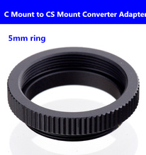 Buy 20pcs/lots Free C Mount CS Mount Converter Adapter MTV board lens mounted 5mm ring security camera adapter for $21.05 in AliExpress store