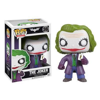 Free Shipping FUNKO POP 36 The Joker in Batman Boxed 10cm PVC Action Figure Collection Model Doll Toy<br><br>Aliexpress
