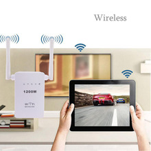 300Mbps Wireless Wifi Repeater Extender Booster Dual Antenna AP Range Signal Extender EU Plug Supports Router Client Bridge