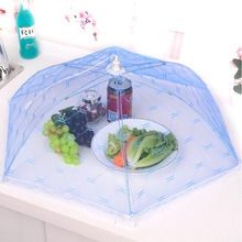 Food Covers Umbrella Style Anti Fly Mosquito Kitchen cooking Tools meal cover Hexagon gauze table mesh food cover