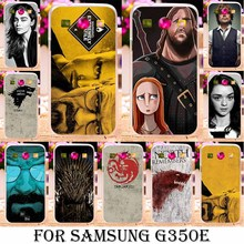 Soft TPU Hard plastic Game Thrones Cases For Samsung Galaxy Star Advance G350E SM-G350E Case Cover For Galaxy Star 2 Plus Cover(China)
