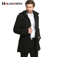 Holyrising winter jacket men thicken weight 1.5kg-2.2kg fashion mens jackets and coat men's outerwear and trench coat #1300041(China)
