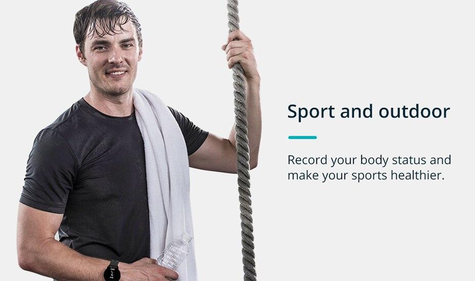 COLMI V11 Smart watch IP67 waterproof Tempered glass Activity Fitness tracker Heart rate monitor BRIM Men women smartwatch 6