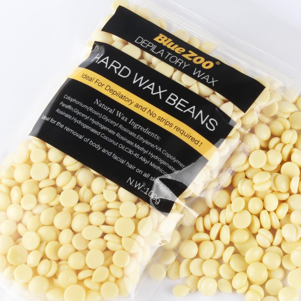 Waxing Kit Depilatory 500CC Hot Wax Hair Removal Machine and Hard Wax Beans 100g Pearl Wax Painless Depilacion Facial Body 15