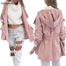 Buy 2017 High Pink Casual Women Jacket Coats Ladies Long Sleeve Sweatshirts Irregular Jacket Women's Fashion Clothing for $11.12 in AliExpress store