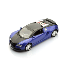 Brand New 1:36 Scale Model Bugatti Veyron Diecast Car Model With Pull Black Collection Car Toys Vehicle Gift