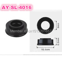 50pieces wholesale rubber seals 16.4*6.9*9mm good quality auto parts fuel injector spacer viton o rings FOR AY-S4016(China)