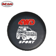 Left Corner   Factory direct sale  PVC car spare wheel cover  spare tire cover  for SUV 4WD RF-CY-54 accept Paypal