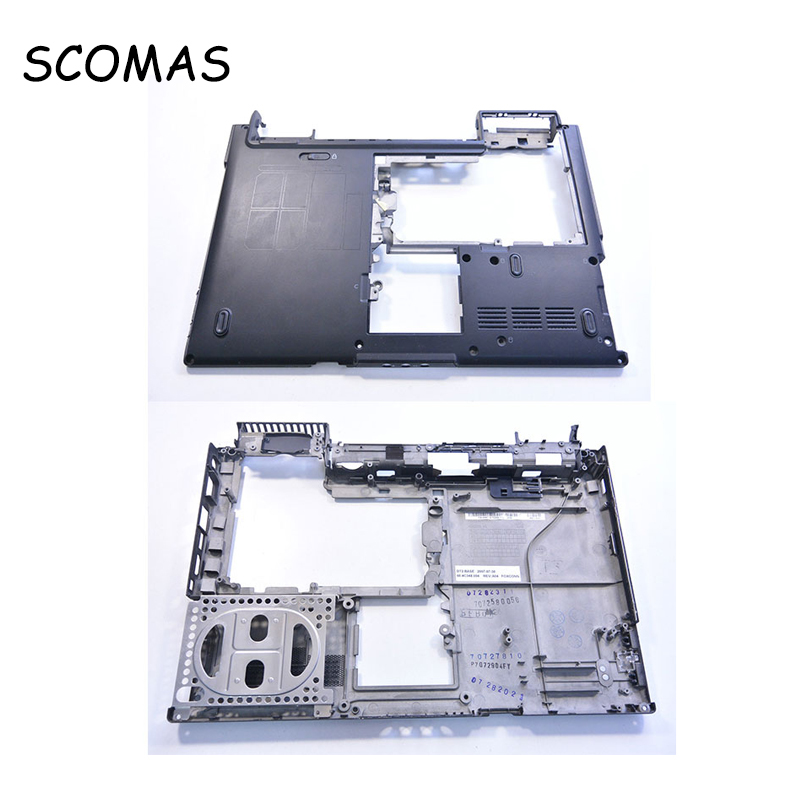 SCOMAS Best Selling Stock Promotion Black Laptop Bottom Case Bottom Cover for Dell XPS M1330 Trim Bezel D Case D Cover Housing(China (Mainland))