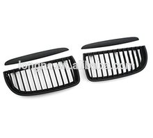 Car Styling Matte Black Front Grille For 2005-2008 BMW E90 Grill 320i 328i 335i 4Dr Only(China)
