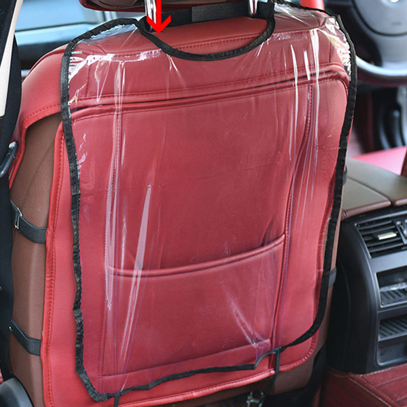 New Car Auto Seat Cover Back Protector Cover For Children Kick Mat Mud Clean