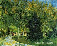 Best Art Reproduction Avenue in the Park Vincent Van Gogh Painting for sale hand painted High quality