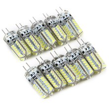 10X 5w 9W 12W 15W G4 led SMD3014 32 48 64 104LEDS AC 12V 220V g 4 Spotlight Led lamp Light Downlight Led Bulbs Warm/Cool White(China)