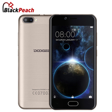 Doogee Shoot 2 Dual camera Smartphone 5.0 Inch HD IPS MTK6580 Quad Core Android 7.0 Dual SIM 2GB RAM 16GB ROM 5MP Cam 3360mAh