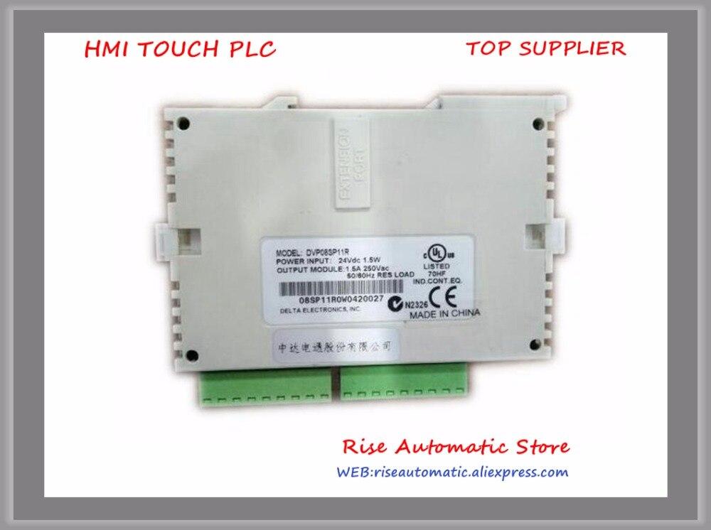 DVP08SP11R DC24V PLC 4DI 4DO relay Module New Original<br>