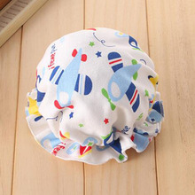 2017 New Children Hat Lace Cap Newborn Baby Boy Girl Caps Winter Warm Sleep Hats Adjustable 6 Patterns Baby Accessories