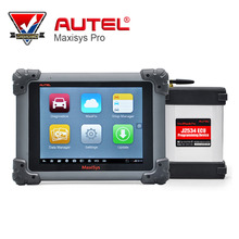 AUTEL MaxiSys Pro MS908P Automotive Diagnostic & ECU Programming System with J2534 reprogramming box Update Onlie Multi-Language(China)