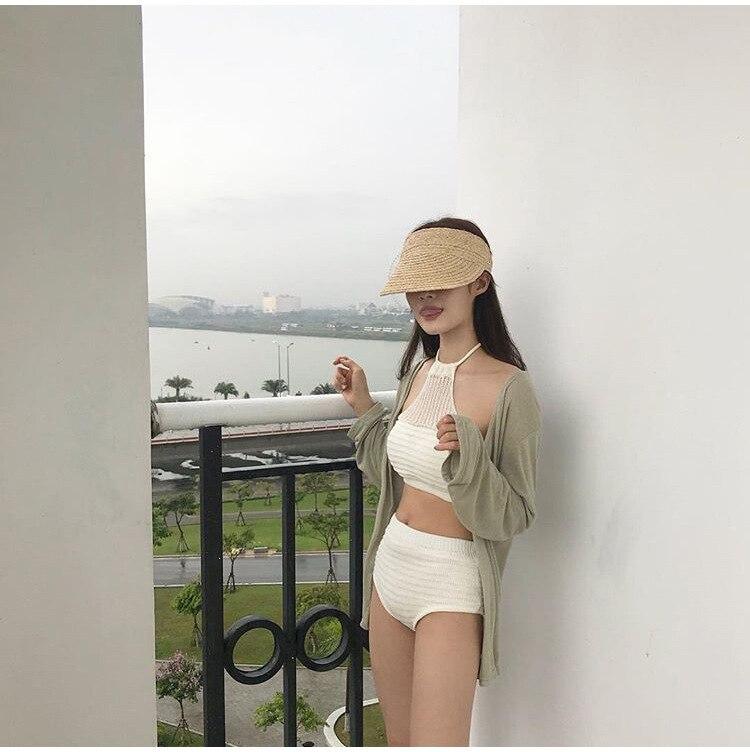 ladies uv roll up korean sun visor hat women sun visor straw sun visor caps (27)