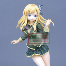 21.5CM Japanese anime figure PVC Action Figures Toys Classic Toys Kashiwazaki Sena Model Dolls For Girl(China)